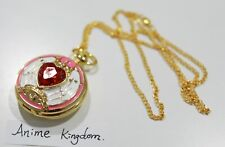 Usa Seller Cosplay Anime Card Captor Sakura Quartz Pocket Watch Necklace Pendant