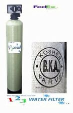 Whole House Water Filtration System - Bone Char Carbon - Fluoride Removal