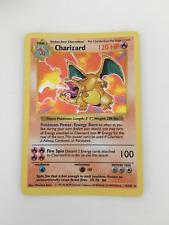 Charizard Shadowless 4/102 Mint Good Condition Pokemon Card Base Ultra Rare 1999