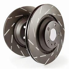 Disc Brake Rotor-EBC USR Series Sport Slotted Rotor Front EBC Brake USR7384