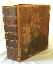 1802 Bible Handwritten Family History Jesse Mercer Born 1766 Pennsylvania Quaker
