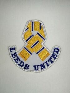 LEEDS UNITED - LUFC - EMBROIDERED PATCH 'SCARF' IRON ON / SEW ON