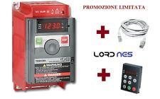 Inverter + Cavo + Tastierino Esterno 1,5 kw - 2HP - VFNC3S015 TOSHIBA - NUOVO
