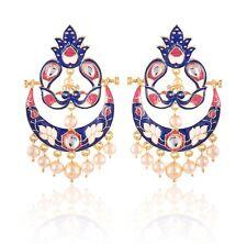 New Indian Handmade Bridal Women Fashion Dangle Earrings Jewelry Free Shipping