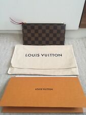 Louis Vuitton lona Monogram Felicie Pochette con cremallera moneda insertar Nueva Genuina