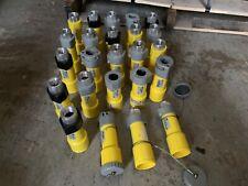 Lot of 24 Russellstoll 9C63U2, 60 Amp 250 Volt Connector