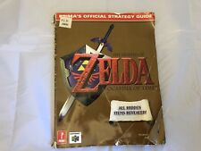 The Legend Of Zelda Ocarina Of Time N64 Official Strategy Guide