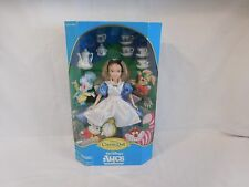 Disney Classic Alice in Wonderland Collector Doll + Tea Set Original Box NIP