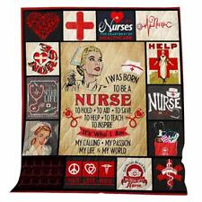 Nursing Themed Blanket-Suitable for Indoor and Outdoor Use
