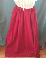 """Overskirt, Underskirt Medieval Renaissance LARP SCA sz 10-26, waist 34""""-48"""" L43"""""""
