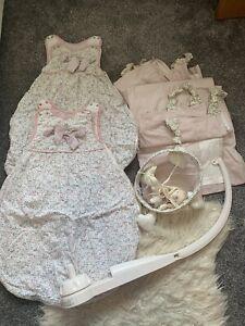 Millie And Boris Nursery Set Mamas And Papas - Sleeping Bags, Curtains, Mobile