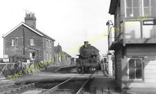 Walpole Railway Station Photo. Sutton Bridge - Kings Lynn. M&GNR. (3)