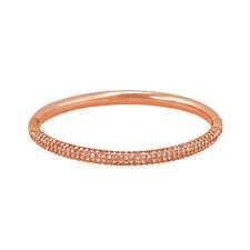 Swarovski Medium Stone Bangle - Rose Gold