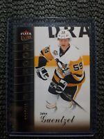 2016-17 Fleer Ultra Rookies Jake Guentzel 34/599 - Pittsburg Penguins