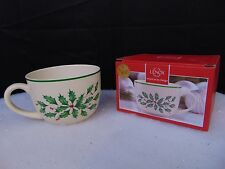 Lenox Holiday Cup Soup Bowl Christmas Decorative Dinnerware 24oz #C67