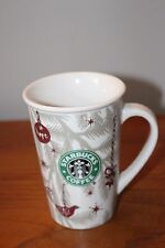 Starbucks Christmas Mug Cup Advertising 2010 Starbucks Coffee Ceramic Mug