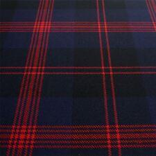 Heavy Weight 16oz Fabric Material Angus Modern Tartan 1 Metre