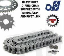 Kawasaki ZX-6R ZX600 G1/2,J1/2 Ninja 98-01 Heavy Duty O-Ring Chain Sprocket Kit