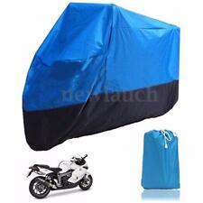 Housses de protection bleue pour motocyclette taille XL