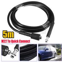 5M 5800PSI Hoch Hochdruckreiniger Schlauch Rohr Auto Reiniger M22 Für Karcher K2