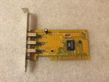 Scheda Firewire Trust 400 DV PCI Kit VI-2100 no. 12824-02 PCI chip VIA VT6306