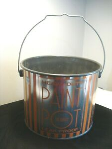 Vintage....Fien...Container..Corp...Tin...Handled  ..Paint...Pail...U.S.A.