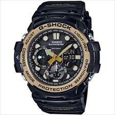 * Nuevo * CASIO Mens G Shock Reloj De Oro gulfmaster gemelo Sensor GN1000GB-1A PVP £ 249