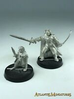 Metal Faramir and Frodo - LOTR / Warhammer / Lord of the Rings X736