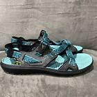 KEEN MAUPIN Women's 11 Green Beach Sand Water Hiking Sandals Shoes Outdoors