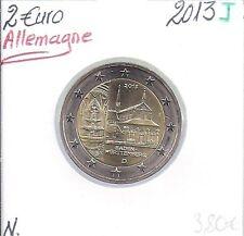 2 Euros - ALLEMAGNE - 2013 - Lettre: J // Pièce de Monnaie en Qualité: Neuve