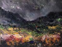 ORIGINAL PAINTING  Acrylic On Canvas 'Autumn Nant Ffrancon '40x30cm