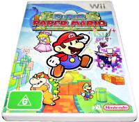 Super Paper Mario Nintendo Wii PAL *Complete* Wii U Compatible