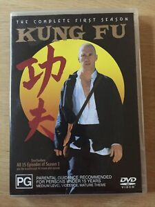 DVD - KUNG FU The Complete First Season -  Region 4