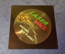 LASERDANCE (LP) AROUND THE PLANET [ORIG GERMAN 1ST ZYX PICTURE DISC ITALO]EX