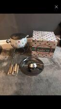 Cath Kidston Spotty Fondue Set Kitchen