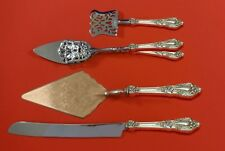 Eloquence by Lunt Sterling Silver Dessert Serving Set 4 pc Custom Made