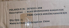 NOS Polaris OEM Rear Deluxe Brushguard Black Ranger, RZR 2876521-458