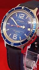 Reloj de buceo RUSO VOSTOK anfibios-Reino Unido Vendedor (CCCP URSS Soviética)