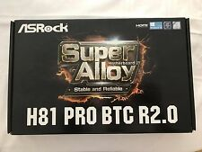 ASROCK H81 PRO BTC R2.0 S1150 Intel H81 2x DDR3 Motherboard BRAND NEW