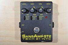 Tech 21 NYC Sans Amp GT2 Guitar Pedal