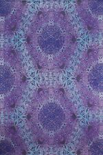 Handmade 100% Cotton 3D Psychedelic Purple Eyes Tapestry Tablecloth Spread 60x90