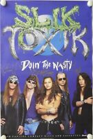 Slik toxik JSA Signed Autograph Promo Poster Fully Signed Doin The Nasty