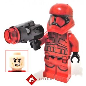 Lego Star Wars Sith Trooper minifigure from set 75266