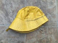 Genuine Oilskin Hat Cap. Cycling Outdoor Retro Vintage Collectable. Film Prop.