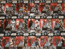 Star Wars Action Figures: Force Awakens, Rogue One, Darth Vader, Rebels, Jedi