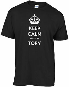 UK General Election Boris Johnson - Keep Calm And Vote Tory t-shirt