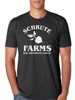 Schrute Farms Bed And Breakfast The Office Men's Shirt