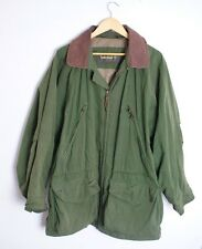 Timberland Weathergear Vintage Leather Hunting style Jacket / Coat Size Large