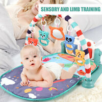 3 In1 Baby Infant Gym Floor Play Mat Musical Activity Center Kick