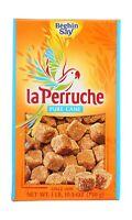 La Perruche Pure Cane Rough Cut Cubes, 1 lb.10.50z(750g) Brown Sugar 10.5 Ounce